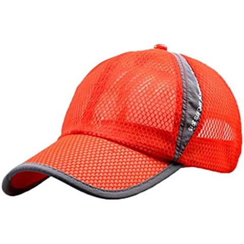 G7Explorer Mesh Speed Drying Breathable Running Cap Only 2.3 Ounces (Orange)