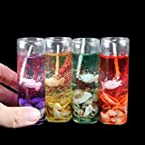 PeepalComm 6pcs/pack Crystal Gel Candles For Home Decoration Party Birthday Wedding Diwali Christmas (2.7 X 2.7 X 8.0cm)