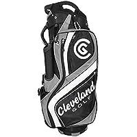 Cleveland C0089624 Bolsa de Carro de Golf, Hombre, Negro/Marrón/Blanco, Talla Única