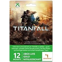 Xbox Live Gold 12+1 Monate Prepaidkarte Titanfall