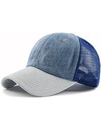 581f63ca59be WY-scarf Chapeau d été Casquette de Baseball Grille extérieur Leisure  Abat-Jour Casquette de Chapeau de…