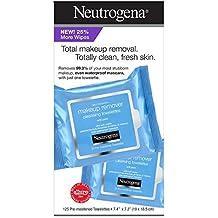 Neutrogena - Toallitas faciales para desmaquillar (125 CT)