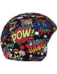 COOLCASC Funda universal de casco print BOOM