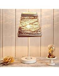 Tabla dormitorio de la lámpara lámpara de noche moderna minimalista lámpara de regalo personalizado literaria pequeña de noche (sin fuente de luz) , 2