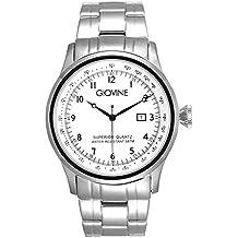 Reloj cuarzo para hombre Giovine Casanova Tempo OGI004/T/MB/SS/BN