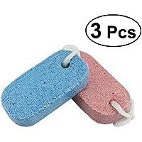 ROSENICE 3 Stück Bimsstein für Füße und ultimative Pediküre-Tools Natural Foot File preisvergleich bei billige-tabletten.eu
