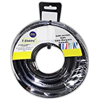 EDM Carrete cablecillo Flexible 4 mm. Negro 50 MTS. Libre-halogeno