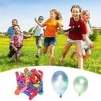 WXCL 500pcs Palloncini d'acqua Palloncini riempiti in Lattice Multicolor Palloncini estivi per Bambini Giocattoli da spiaggia all'aperto
