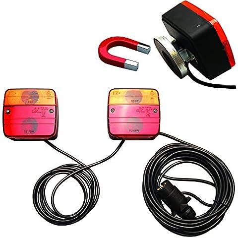 BGS 80960rimorchio lampade con supporto magnetico