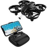 Potensic Mini Drone avec Télécommande Drone avec WiFi Caméra Fonction de Suspension Altitude Caméra, Adapté aux Débutants, Le Cadeau pour des Enfants