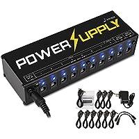 Donner DP-1 Gitarre Pedal Netzteil 10 Isolated Ausgang Pedal Power Supply für 9V/12V/18V Effektpedale