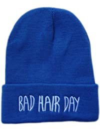 Bad Hair Day Beanie Beanies Mütze Hat BadHairDay Aufschrift Bad Hair Day Mütze