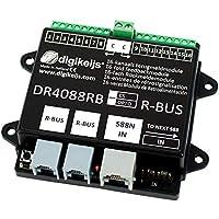 DR4088LN-2R sensor de ocupación loconet 16 tramos