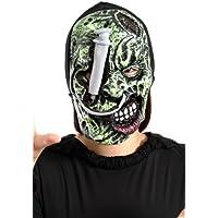 Li05, máscara de miedo para los disfraces de Halloween, fiesta del tema, disfraces