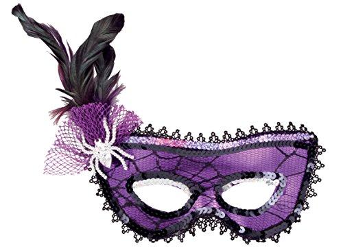 Eine Macht Kostüm Spinne Dress Fancy - Boland 299 - Maske Ragnatela
