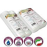 Sacchetti sottovuoto per Alimenti Diverse Misure. BPA Free. Cottura Sous Vide. Super Resistenti: Universali e Adatti a Tutte Le Macchine sottovuoto
