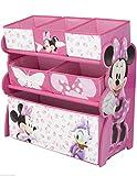 Mini Maus Regal Aufbewahrungsregal Kinderregal Spielzeugkiste Disney Minnie Mouse 84869MN