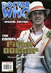 DOCTOR WHO MAGAZINE - SPECIAL EDITION #1 - THE COMPLETE FIFTH DOCTOR - 2002