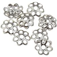 20 pcs Perlenkappen Kappen Perlenkappe Perlkappen Endkappen für