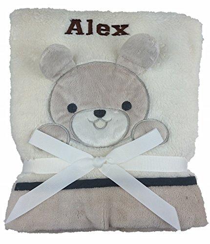 personnalisé Deluxe Bunny Couverture pour bébé. Luxe Wrap. Beau Cadeau bébé.