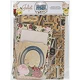 Bo Bunny Paper Misc Me Journal Contents-Juliet