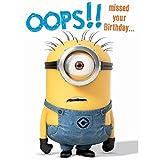 Geburtstagskarte Ich einfach unverbesserlich, zum vergessenen Geburtstag