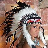 kenai Federhaube,War Bonnet,Indianerhaube,Indian Headdress,Coiffe indienne,Squaw,Pocahontas,Winnetou