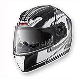 Caberg Vox velocidad mate negro/blanco casco de moto