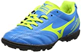 Mizuno Morelia Neo Cl Jr. As, Unisex Kinder Fußballschuhe, Blau (Diva Blau/Safety Yellow), 36.5 EU (4 UK)