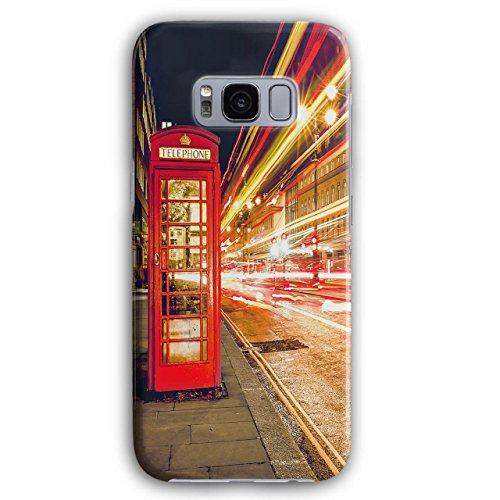 on Symbol 3D Galaxy S8 Plus Hülle | Wellcoda (Britische Roten Mantel)