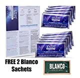 Luxe-Professional-Whitening-Strips-10 day supply - 10 pouches with 2 FREE BLANCO TEETH WHITENING SACHETS