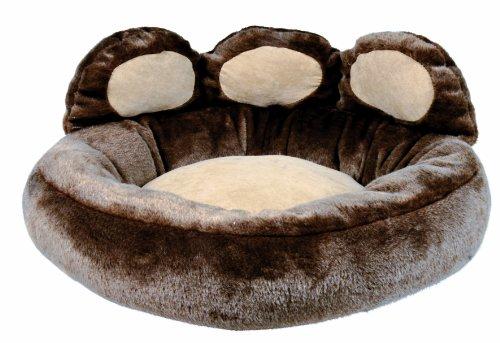 Trixie 37401 Donatello Bett, 60 × 50 cm, braun/beige