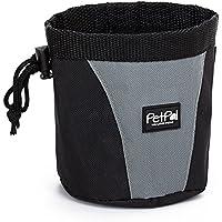 PetPäl Futterbeutel für Hunde Leckerlies Leckerlibeutel für Hund & Pferd | Leckerlitasche, Snack Bag mit Clip & Lasche | Hunde Zubehör Leckerli Tasche | Leckerlie-Tasche fürs Training