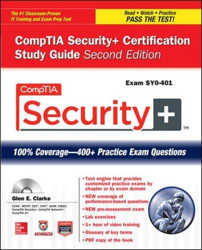 CompTIA Security+ Certification Study Guide, Second Edition (Exam SY0-401) (Certification Press)