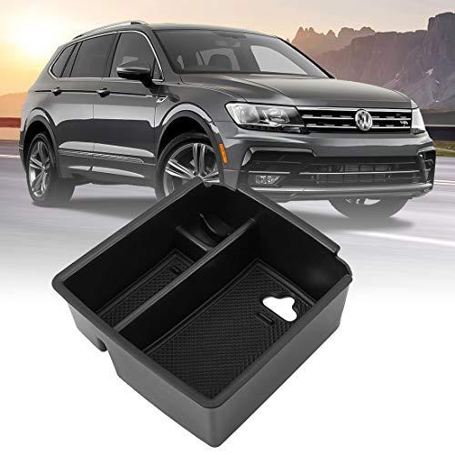 Auto-Center-Konsole Armlehne Aufbewahrungsbox Handschuhfach Partitionen Fach für Tiguan MK2 -