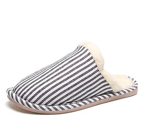 Cotton Slippers Damen Lovely Home Floor Soft Pantoffeln Weibliche Baumwolle-gepolsterte