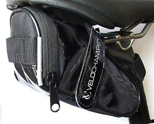 VeloChampion Glatte Satteltasche, Slick Seatpack Blue