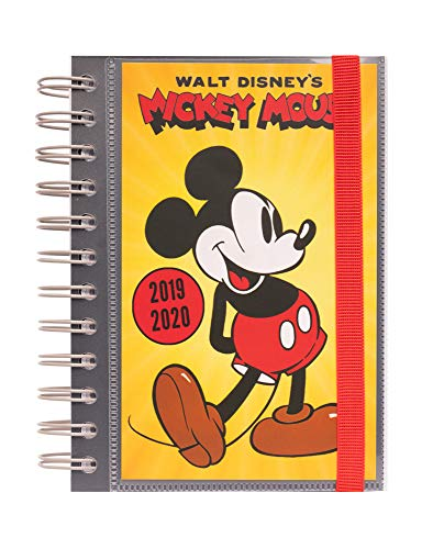 Erik® - diario scuola disney con planner giornaliero 2019/2020, 10 mesi - mickey mouse