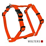 Wolters | Geschirr Basic in Orange | Brustumfang 50 - 75 x B 2 cm