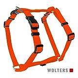 Wolters | Geschirr Basic in Orange | Brustumfang 30 - 50 x B 1,5 cm
