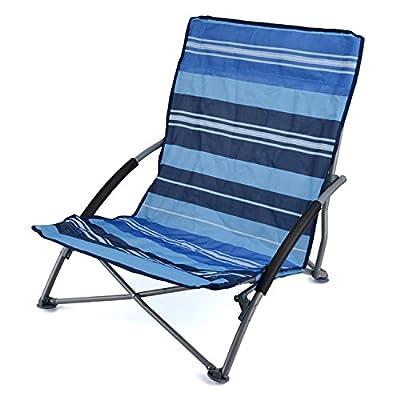 Sisken Low Folding Beach Chair - inexpensive UK light shop.