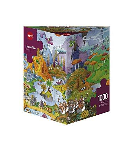 Heye 29230 - Idyll, Puzzle 1000 Pezzi, Multicolore