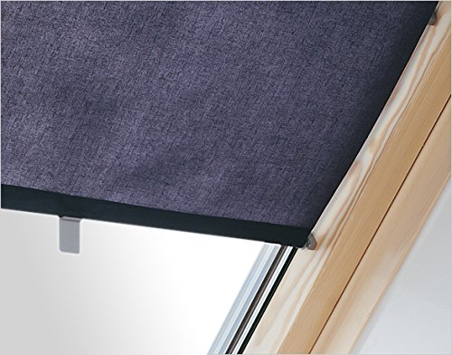 Innenrollo RAR FXA dunkelblau 48 cm breit für Dachfenster Größe F6A 66 x 118 cm