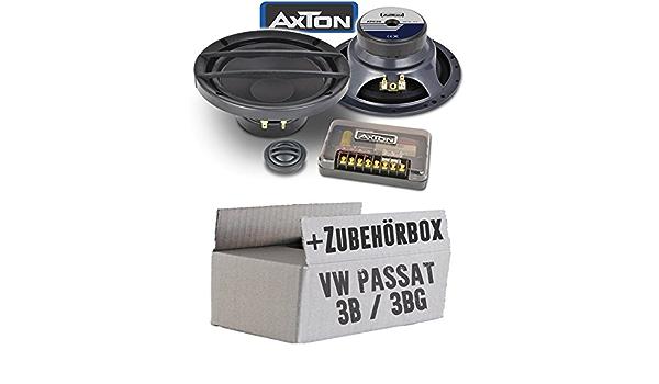 Lautsprecher Boxen Axton Atc26 16cm 2 Wege Kompo System Auto Einbauzubehör Einbauset Für Vw Passat 3b 3bg Just Sound Best Choice For Caraudio Navigation