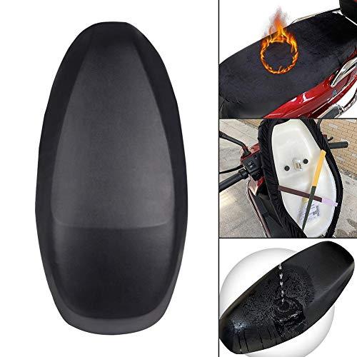Funda de asiento de motocicleta, protector de UV resistente al desgaste utilizable...