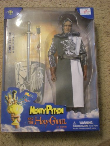 John Cleese As Sir Launcelot 12 Collectible Figure - Monty Python and the Holy Grail First Series by Monty Python