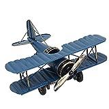 Simulation Aircraft Modell, mamum Fashion simulieren Metall Flugzeug Modell Hot Anhänger Home Decor Boy Favor Geschenk Einheitsgröße blau