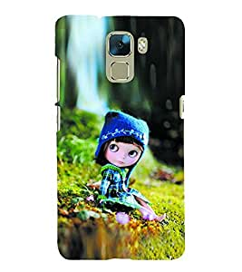 Vizagbeats Cute Doll Back Case Cover for Huawei Honor7