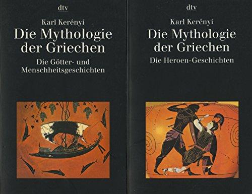 Die Mythologie der Griechen: Die Götter-, Menschheits- und Heroen-Geschichten (dtv Kassettenausgaben)