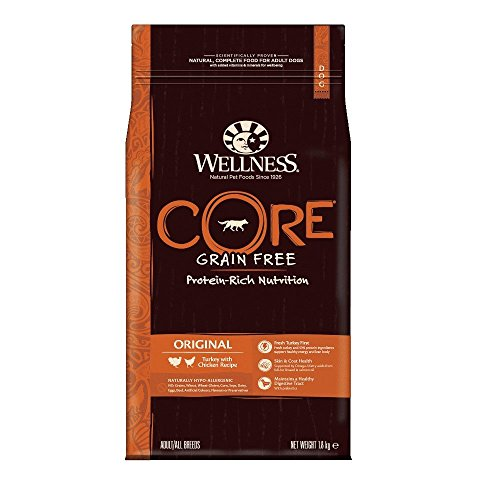 Wellness CORE Dog Dry Grain-Free Food Original Turkey with Chicken, 1.8 kg